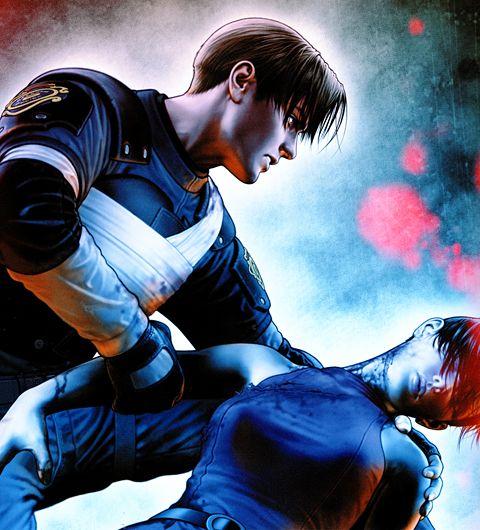 Leon (Resident Evil 2) by Shinkiro