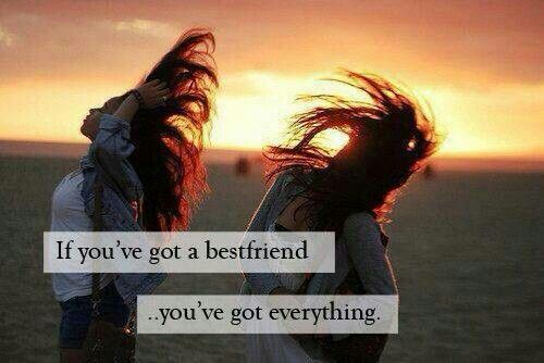 If you've got a best friend...you've got everything!