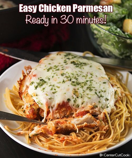 Easy chicken parmesan, Chicken parmesan recipes and Parmesan recipes ...