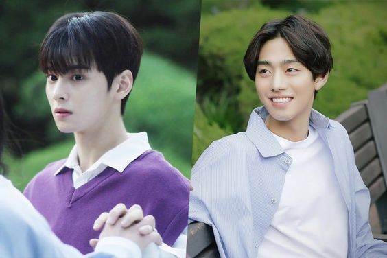 """ASTRO's Cha Eun Woo And Ahn Hyo Seop Share A Sweet Moment In """"Top Management"""""""