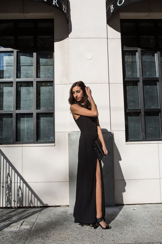 All black, holiday dressing, minimal style, body chain http://the-unprecedented.ca/forever21holidayandgiveaway/