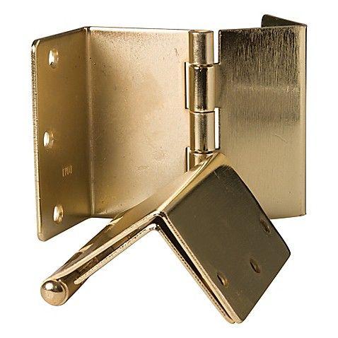 Healthsmart Expandable Door Hinges In Brass Set Of 2 Door Hinges Hinges Offset Hinges