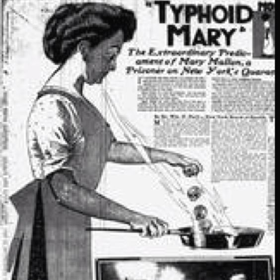 Typhoid Mary    http://history1900s.about.com/od/1900s/a/typhoidmary.htm