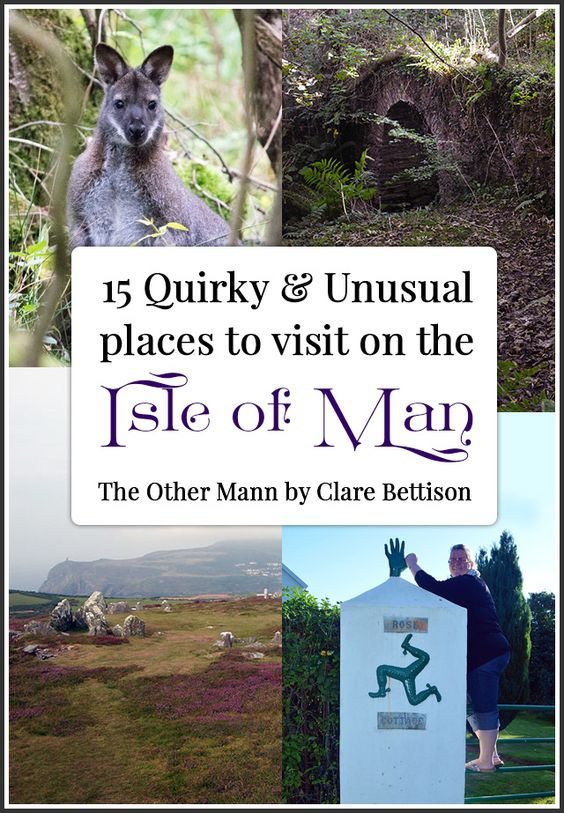 15 Quirky & unusual places to visit on the Isle of Man. Includes Magnetic Hill, the Old Fairy Bridge, Wild Wallabies, and the Sulby Giant