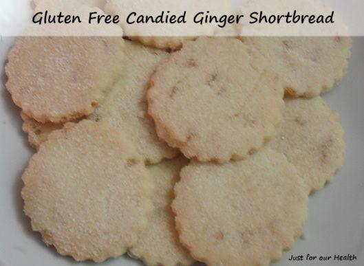 ... Ginger Shortbread Cookies | Shortbread Cookies, Gluten and Gluten free