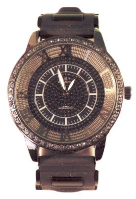 Mens Watches Black Face