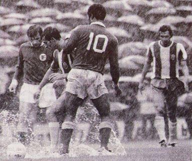 Jaime Graça , Eusébio e dois jogadores do Porto