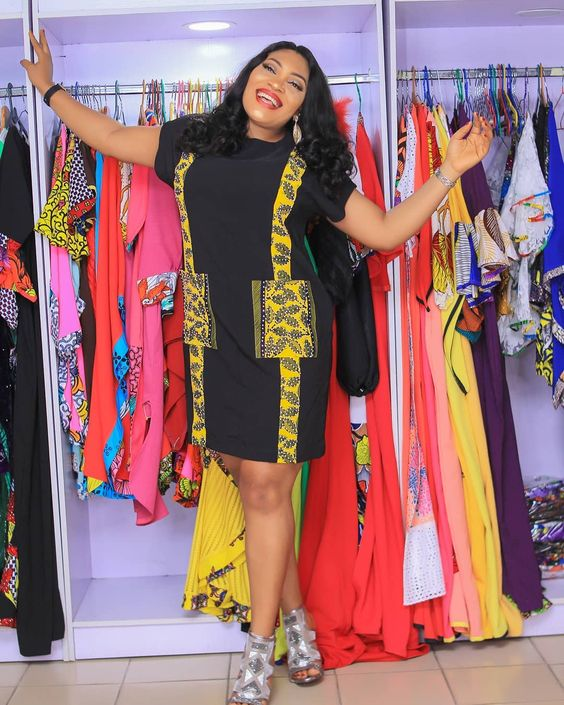 View ladies ankara gown styles
