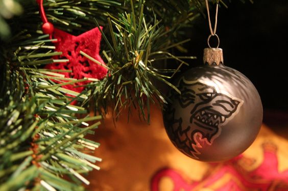 Games of Thrones Christmas ornaments