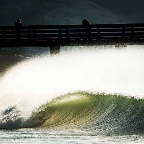 chrisburkard:    Even closeouts can be beautiful @surfer_magazine