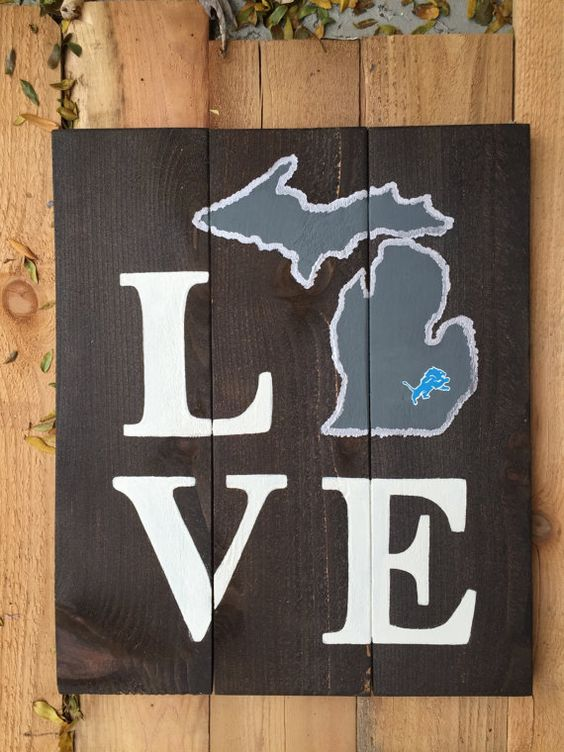 Hey, I found this really awesome Etsy listing at https://www.etsy.com/listing/207880970/love-detroit-lions-michigan-wooden-sign