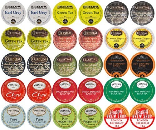 30-count TOP BRAND TEA K-Cup Variety Sampler Pack, Single-Serve Cups for Keurig Brewers Custom Variety Pack http://www.amazon.com/dp/B00KSIZ2SO/ref=cm_sw_r_pi_dp_tIlMub11XSZ9Z