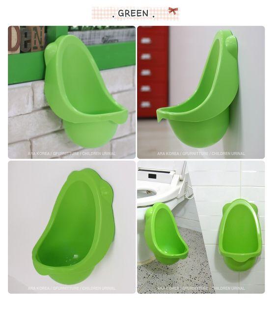 Children Potty Urinal Toilet training for boys pee [Made in Korea]_Green | eBay