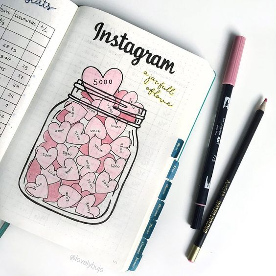 Instagram tracker by @lovelybujo
