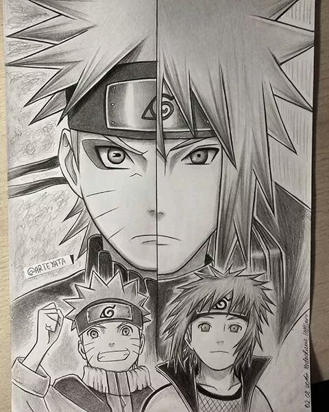 Video Desenhe Seus Personagens Favoritos Naruto Sketch Naruto