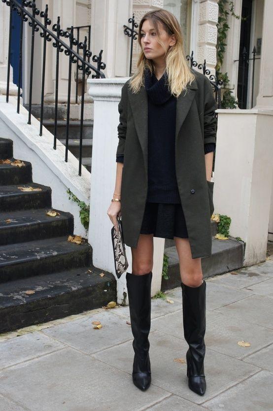 Black dress long coats – Dress best style form
