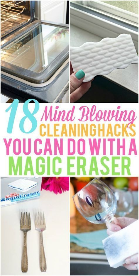 These Magic Eraser Hacks are great for projects around your home. Check out all the mind blowing ways you can use a Magic Eraser!