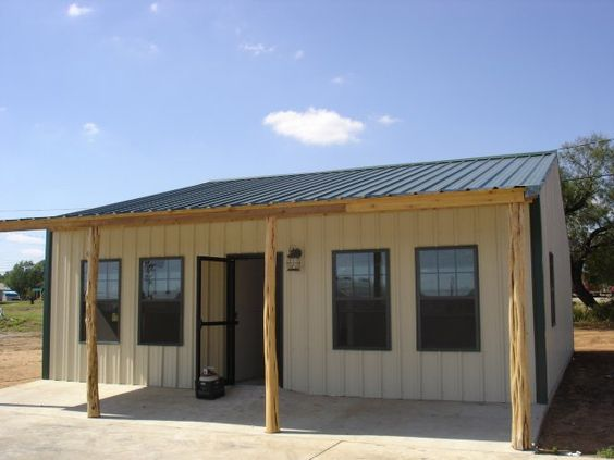 Metal buildings steel frame homes and metal building for Metal building with apartment plans