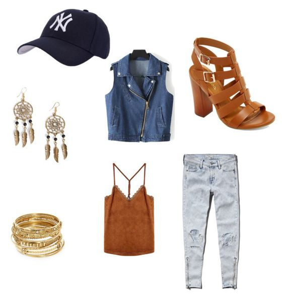 """Urban casual"" by lucyt1998 on Polyvore featuring Abercrombie & Fitch, Hartford, Bamboo, Boohoo and ABS by Allen Schwartz"