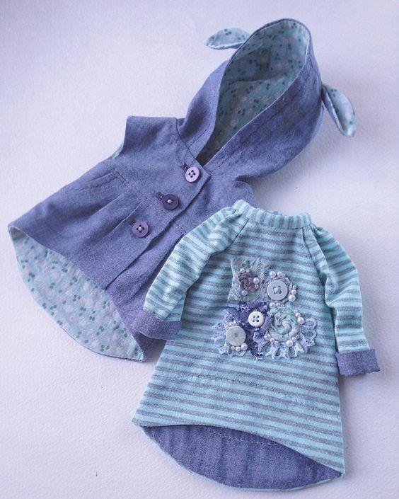 563 отметок «Нравится», 20 комментариев — Дина Крылова (@dina70k) в Instagram: «Сделано на заказ. #одежда #одеждадлякукол #платье #платьедлякуклы #трикотажноеплатье #декородежды…»