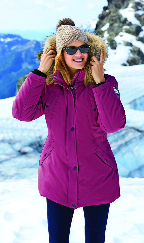 Alpinetek® Mid-Length Down Parka | Winter Preview | Pinterest