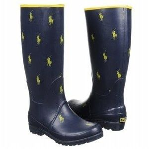 navy womens polo rain boots - Google Search | My Style | Pinterest ...