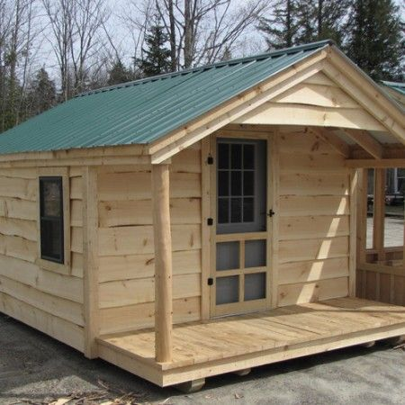 12 39 16 39 home office optional adirondack siding for Adirondack cabin builders