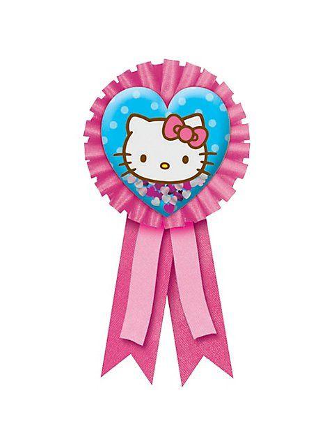 Hello Kitty Award Ribbon