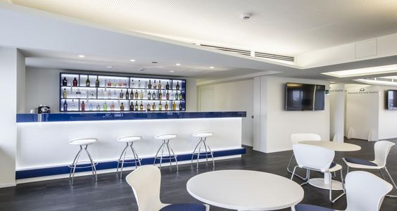 Cafeteria into the premises of Pernod Ricard in Milan, Italy