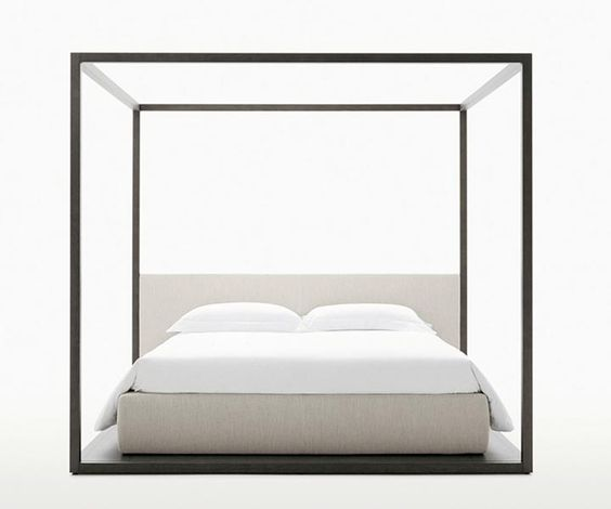 Canopy bed modern style