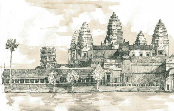 El misterio de la ciudad Angkor Vat