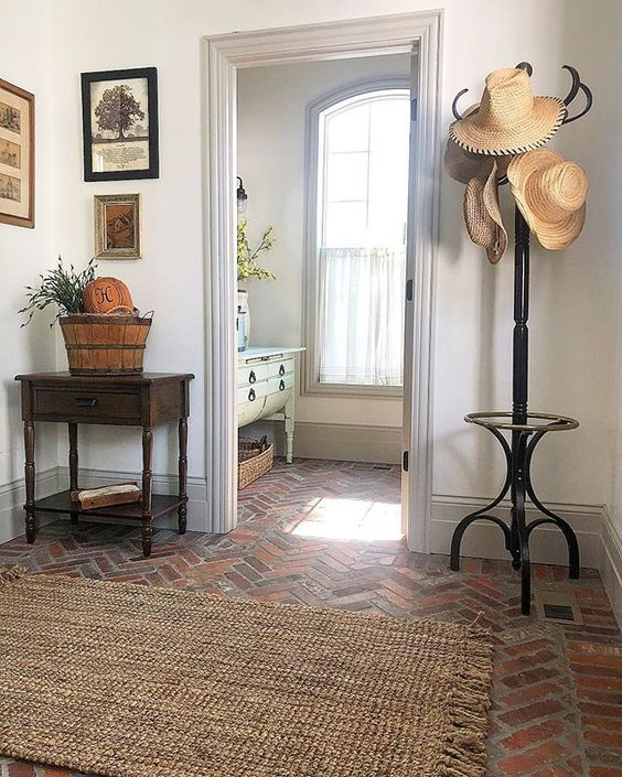 Interior Brick Flooring