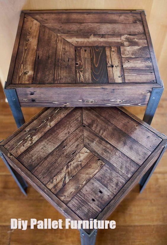 Diy Reclaimed Wood Furniture Pallet To Furniture Top Cool Diy