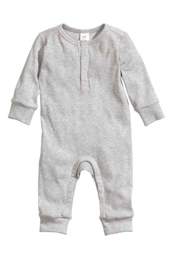 Combinaison en jersey de coton   H&M 9,99euros