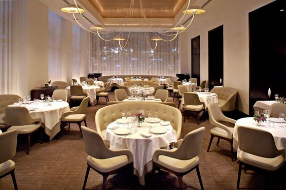 Jean Georges located in New York City and costs $410 per person. The food sounds delicious. The World's Most Expensive Restaurants