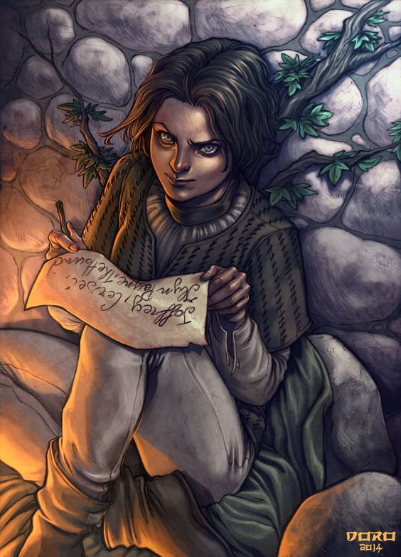 Badass Arya Stark Illustration by DoroxDoro