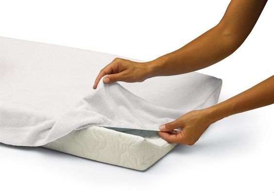 American Baby Company Heavenly Soft Changing Pad Cover - WHITE -MINKY -  BNIP  #AmericanBabyCompany