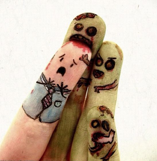 Zombie fingers by *Meiio.  Made me chuckle.