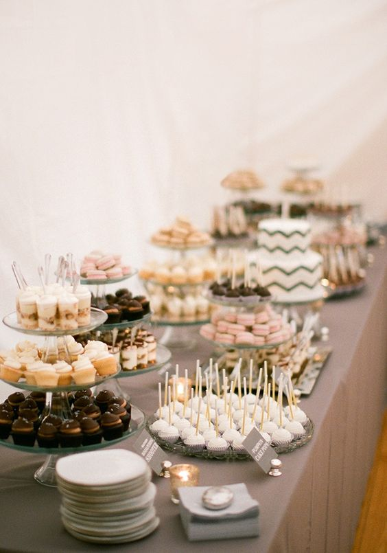 Rustic wedding dessert bar #weddingidea #desserttalbe #dessertbar #weddings