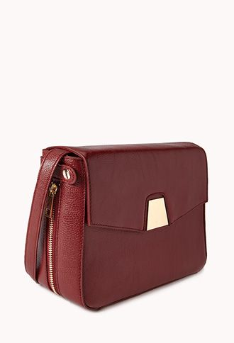 Modernist Boxy Crossbody | FOREVER21 - 1000065434