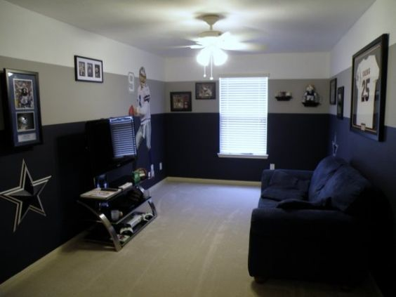 Dallas Cowboys Game Room This Is My Dallas Cowboys Game Room That I Enjoy To Spend My Free Time