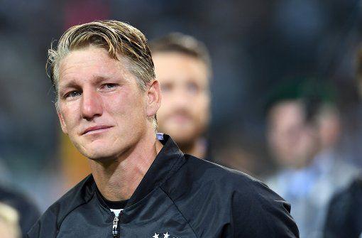 Bastian Schweinsteiger beendet nach 121 Spielen im DFB-Dress seine Karriere in…