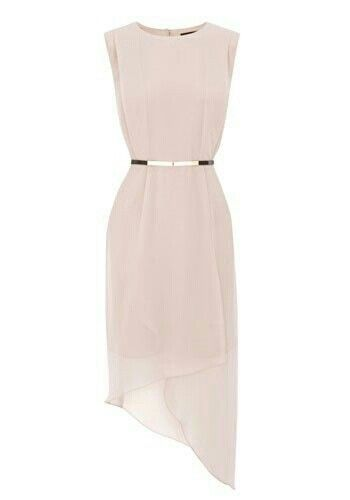 I think this is perfect for a bridesmaid dress because you could wear it again and it's not too formal.