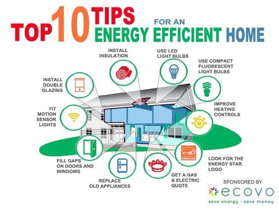 Top 10 energy efficiency tips for your home for more advice and energy saving products visit - Advice on insulating your home ...