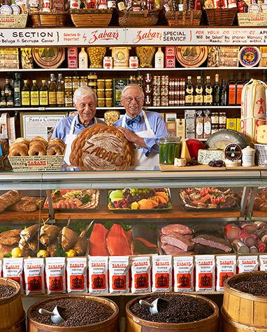 Come here for the bagels, and the rugelach, and the chocolate babka, and the smoked fish, and we could go on and on. This Upper West Side specialty grocer, which has been operated by the Zabar family (out of the same location) since the 1930s, is still the place to stock up on old-school Jewish delicatessen fare. It's one of those classic city shops that's as worth it for the goods as it is for the characters who shop there regularly.
