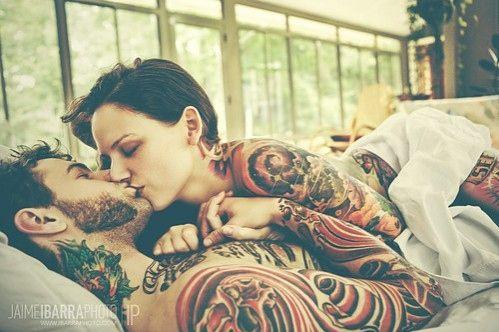 tattoos & love, beautiful
