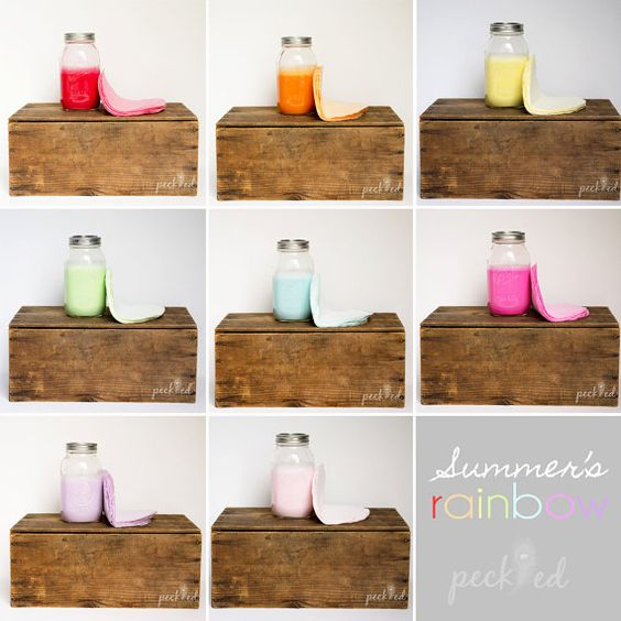 Summer's Rainbow by peckled on Etsy