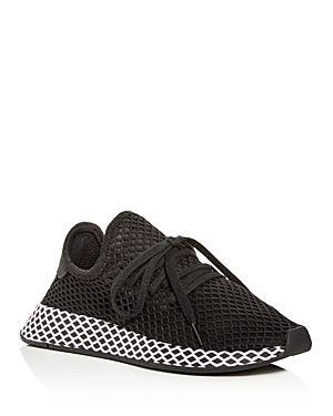 Deerupt Sneakers In Black And Lilac