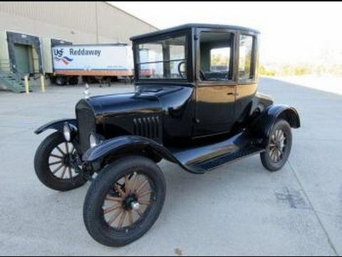 1925 Ford Model T Coupe Doctors Coupe On Govliquidation Com Youtube Ford Models Model T Classic Cars