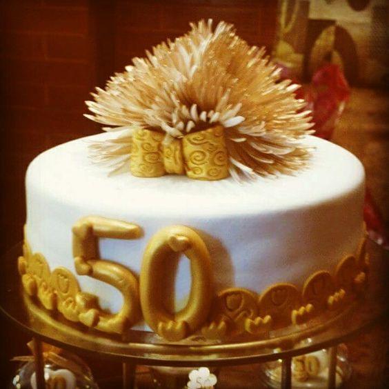 Torta bodas de oro
